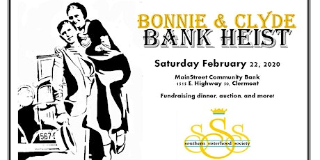 Bonnie and Clyde Bank Heist tickets