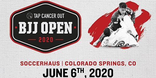 Tap Cancer Out 2020 Colorado Springs BJJ Open - Coach and Spectator Tickets