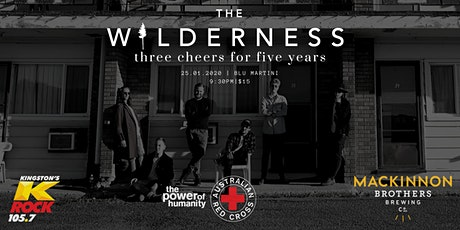 The Wilderness // Three Cheers For Five Years tickets