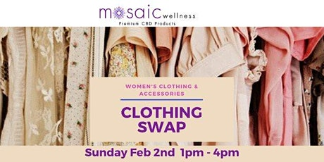 Women's Clothing and Accessories Swap tickets