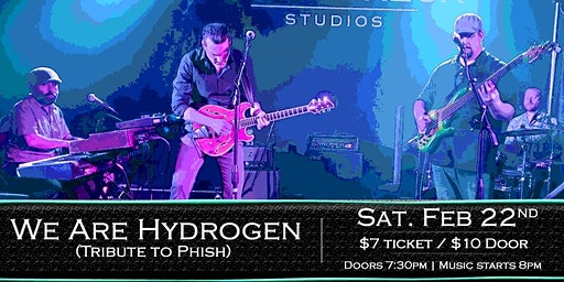 We Are Hydrogen at Soundcheck Studios