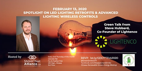 Green Drinks February - Spotlight on LED Lighting Retrofits & Advanced Wireless Lighting Controls  tickets