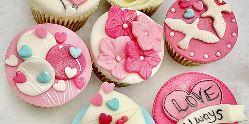 Valentines Day Cupcake Class