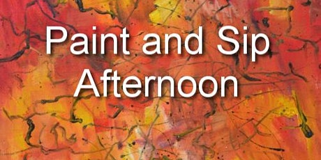 Paint and Sip Afternoon tickets