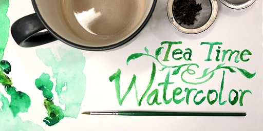 Tea Time + Watercolor: Afternoon of Herbal Brews & Painting Techniques