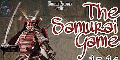 THE SAMURAI GAME boletos