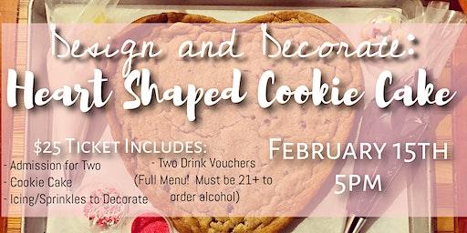 Valentine's Day Cookie Cake Decoration Event