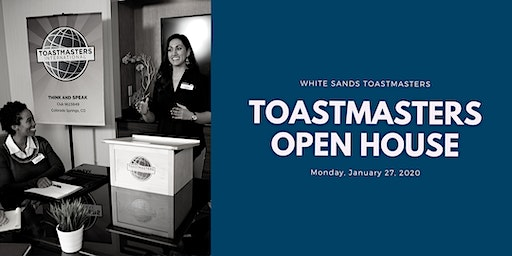 Toastmaster Open House
