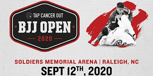 Tap Cancer Out 2020 Raleigh BJJ Open - Coach and Spectator Tickets