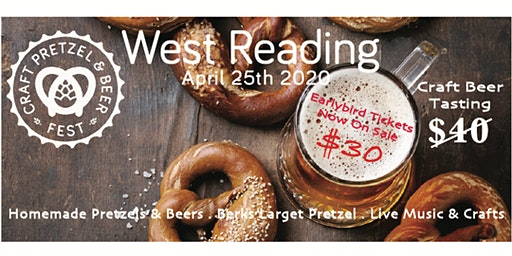 West Reading Craft Pretzel & Beer Tasting