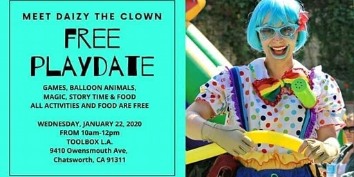 Free Playdate & Open House at Toolbox L.A.