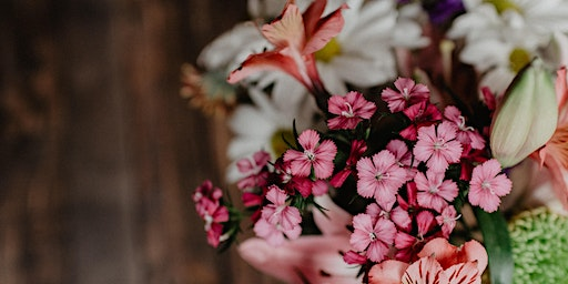 Flowers & Tea - A Mother's Day Flower Workshop and Supper for the Kids.