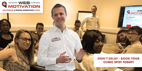 Croydon London SEO & Digital Marketing Clinic tickets