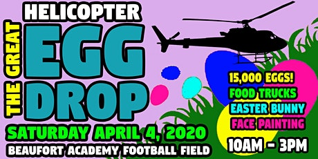 The 2020 Great Helicopter Easter Egg Drop tickets