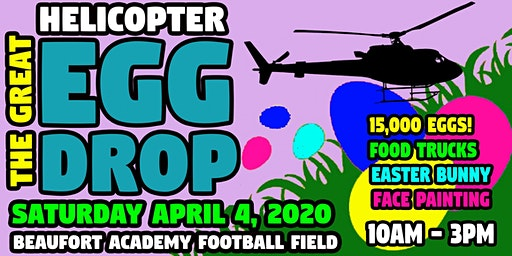 The 2020 Great Helicopter Easter Egg Drop