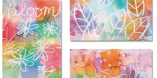 Creation Lab: Tissue Paper Painting