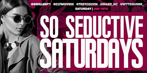 So Seductive Saturday's Holiday Weekend Edition