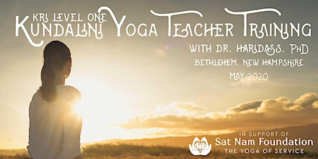 KRI Level 1 Kundalini Yoga Teacher Training 2-Module Immersion tickets