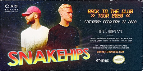Snakehips   IRIS ESP101 Learn To Believe   Saturday February 22 tickets