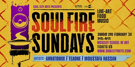 Soul Fire Sundays 2 tickets