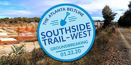 Atlanta BeltLine Southside Trail-West Groundbreaking tickets