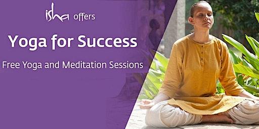 Free Isha Meditation Session - Yoga for Success - At Jersey (UK)