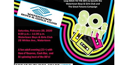 LEAP BACK TO THE 80'S! tickets