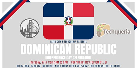 Chevere Thursdays: Dominican Republic's Independence Day tickets
