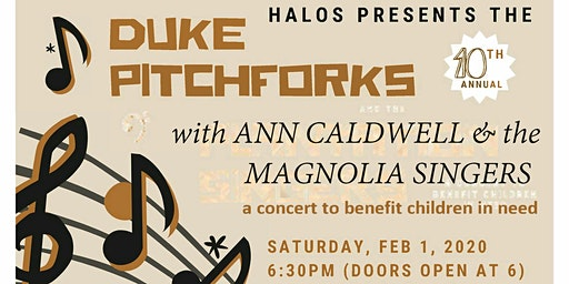 The Duke Pitchforks with Ann Caldwell and the Magnolia Singers