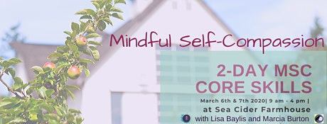 Mindful Self-Compassion 2-Day Core Skills tickets