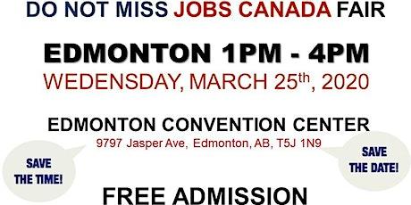 Edmonton Job Fair - March 25th, 2020 tickets