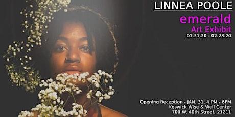 LINNEA POOLE emerald ART EXHIBITION tickets