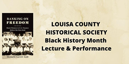 "Lecture - ""Black Women's Political Culture in Virginia Then and Now"""
