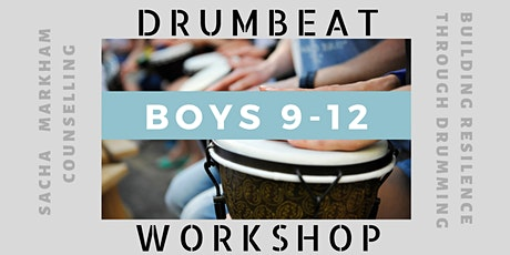 Boys DRUMBEAT Workshop 9-12 years of age tickets