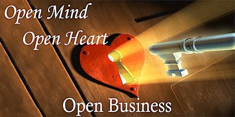 Open Mind, Open Heart, Open Business workshop: Money, Numbers & Bookkeeping tickets