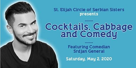 Cocktails, Cabbage, and Comedy Night tickets