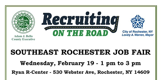 Recruiting on the Road Job Fair - Southeast Rochester