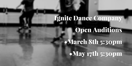 Ignite Dance Company Open Auditions tickets