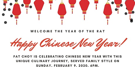 CNY 2020 at Fat Choy tickets