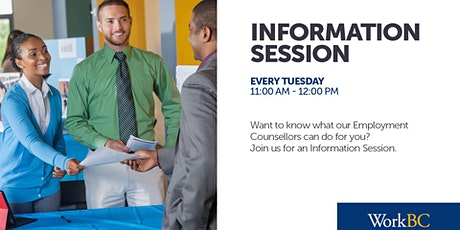 WorkBC Kelowna Information Sessions tickets