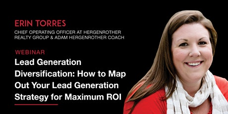 Lead Generation Diversification: How to Map Out Your Lead Generation Strategy for Maximum ROI tickets