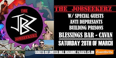 The Jobseekerz LIVE at Blessings Bar tickets
