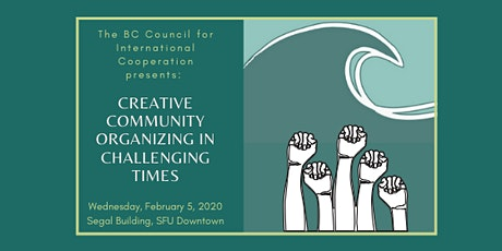Creative Community Organizing in Challenging Times tickets