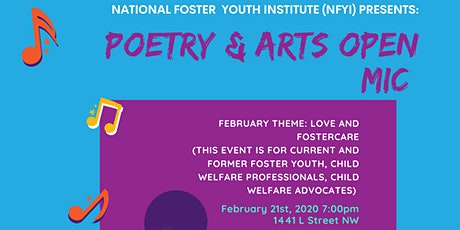 NFYI Presents: Poetry & Arts Open Mic tickets
