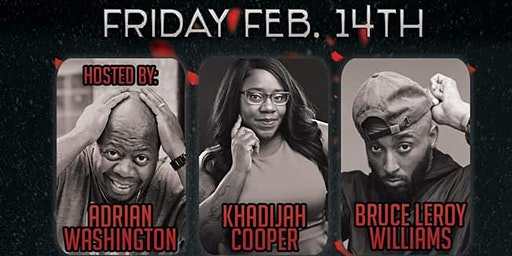 1Mic Ent Valentine's Day Comedy/Dinner Show