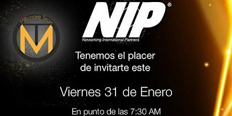 Empresarios NIP en Querétaro  boletos