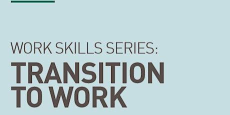 Transition to Work Workshop billets