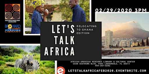 Let's Talk Africa: Relocating to Ghana Edition