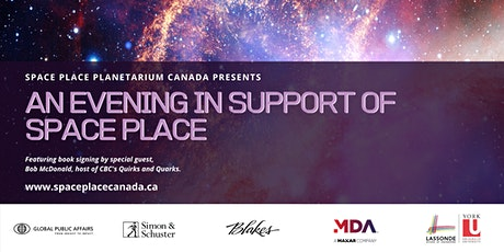 An Evening with Quirk's & Quarks Host Bob McDonald & Space Place Canada tickets