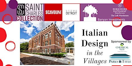 Italian Design in the Villages - Reception for Saint Charles Collection tickets